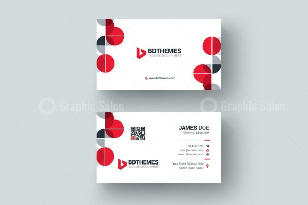 Health Business Card Design