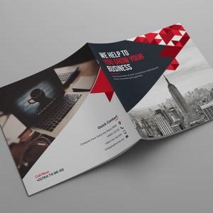 Hera Corporate Bi-Fold Brochure Template