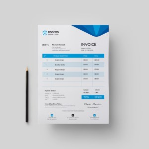 Hera Stylish Corporate Invoice Template