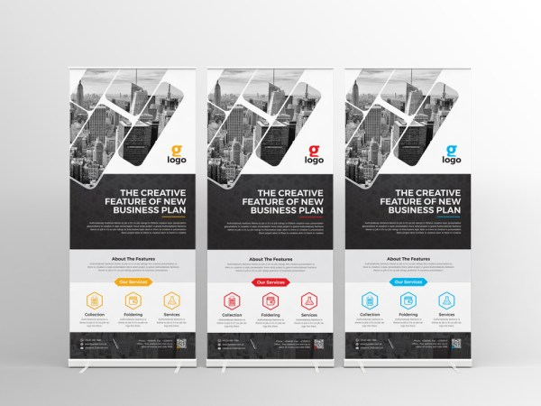 Hesperus Professional Roll-Up Banner Template