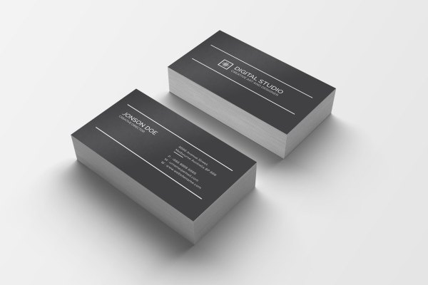 High Class Creative Business Card Design 3