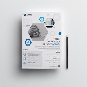 Hydra Elegant Premium Business Flyer Template