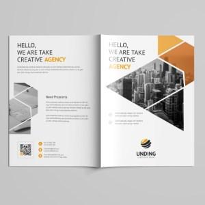 Jupiter Professional Bi-Fold Brochure Template