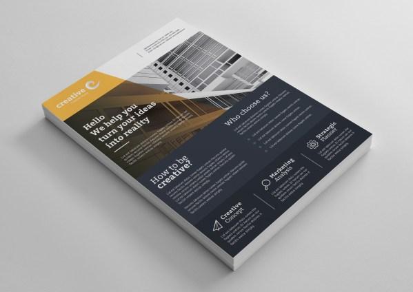 Lisbon Modern Business Corporate Flyer Template