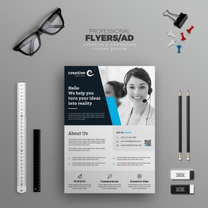 Liverpool Modern Business Corporate Flyer Template