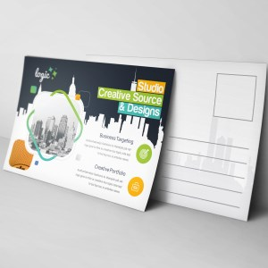 Logic Creative Elegant Postcard Template