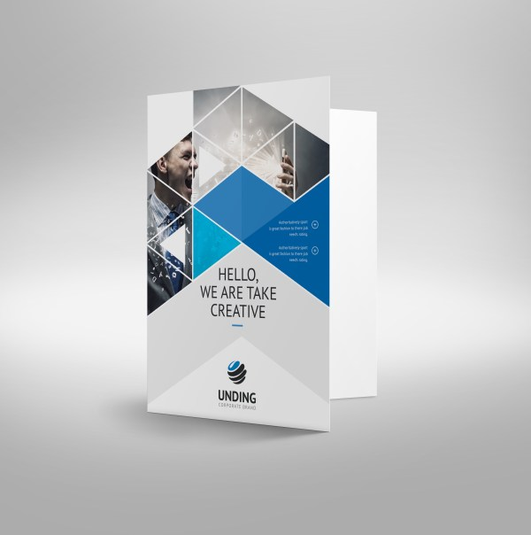 Mars Modern Corporate Presentation Folder Template