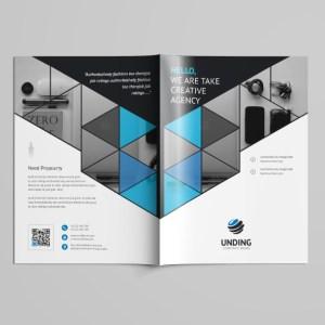 Mars Professional Bi-Fold Brochure Template