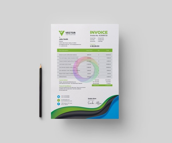 Medical Corporate Identity Pack Design Template 3