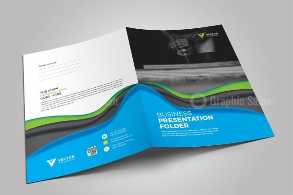 medical presentation folder template graphic templates
