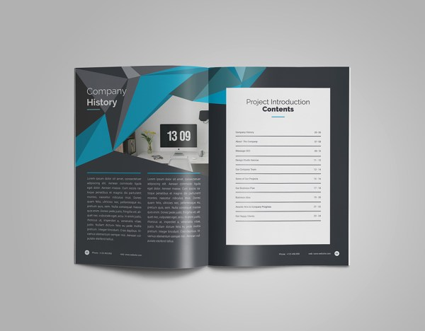 Mega Professional 24 Pages Magazine Template