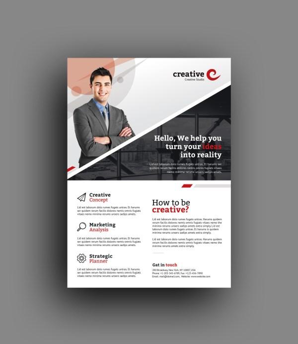 Milan Elegant Professional Business Flyer Template