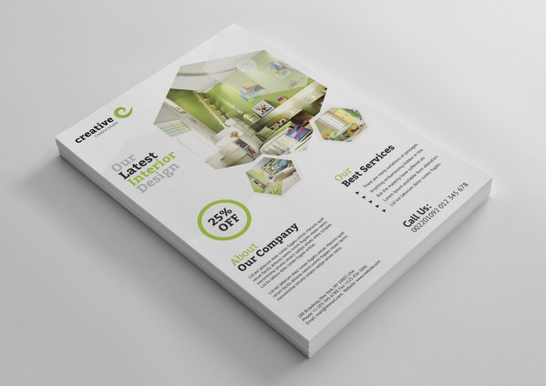 Modern Architecture Professional Flyer Template