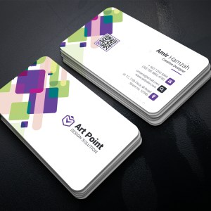 Mosaic Professional Corporate Business Card Template