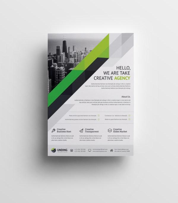 Nemesis Elegant Premium Business Flyer Template