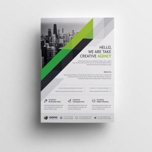 Nemesis Elegant Premium Business Flyer Template