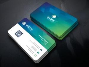 Ocean Professional Corporate Business Card Template