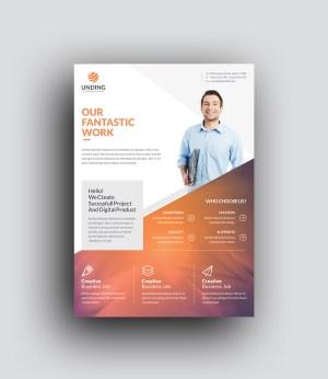 Orthrus Modern Premium Business Flyer Template