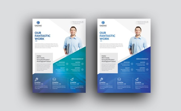 Orthrus Modern Premium Business Flyer Template