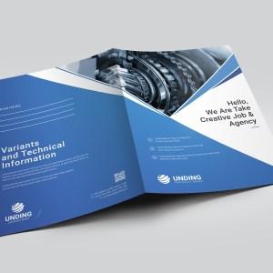 Pearl Professional Corporate Presentation Folder Template