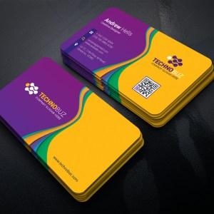 Polaris Modern Business Card Template