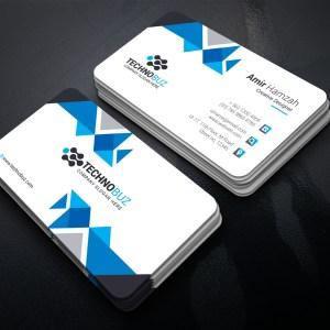 Popular Corporate Business Card Template