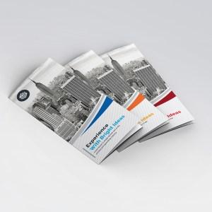 Poseidon Elegant Tri-Fold Brochure Template