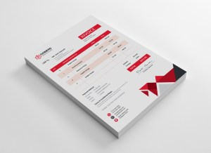 Poseidon Premium Corporate Invoice Template