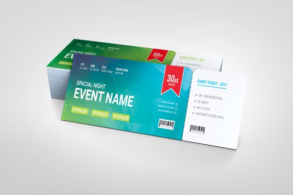 Premium Event Ticket Template