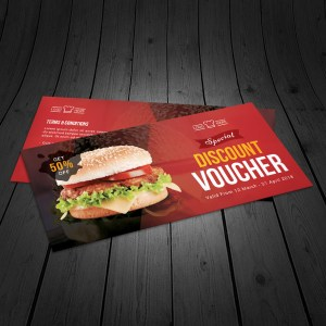 Restaurant Corporate Gift Voucher Template