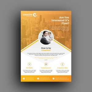Seattle Professional Business Flyer Template