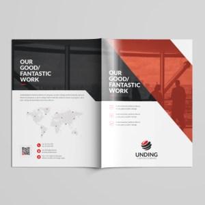 Sirius Professional Bi-Fold Brochure Template