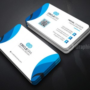 Society Business Card Template