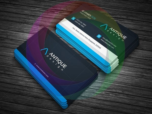 Stylish Business Card Design 6