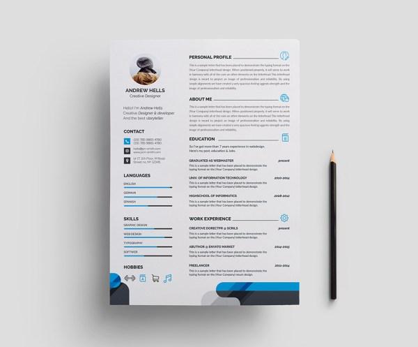 Stylish Professional Resume Template