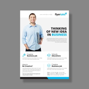 Thor Elegant Corporate Flyer Template