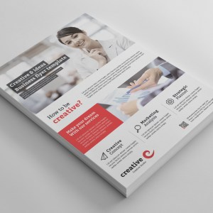 Vancouver Modern Professional Business Flyer Template