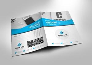 Versatile Professional Corporate Presentation Folder Template