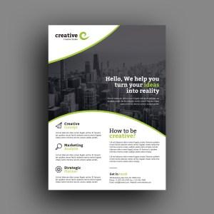 Warsaw Elegant Professional Business Flyer Template
