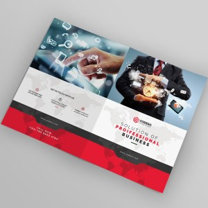 World Bi-Fold Brochure Template