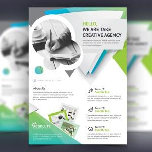 Zelus Stylish Professional Corporate Flyer Template