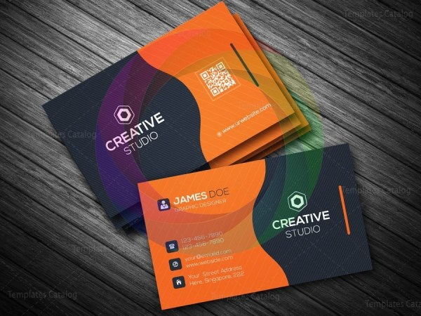 Business card template in eps format graphic templates business card template in eps format 2g flashek Gallery