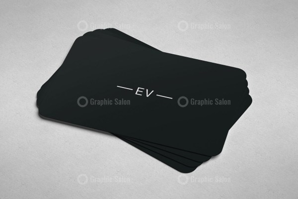 Black White Business Card Templates