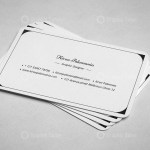 Classic Visiting Card Templates 4