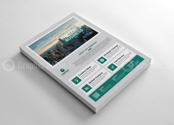 Classy Business Flyer Templates 3