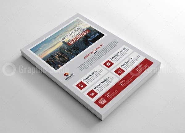 Classy Business Flyer Templates 4