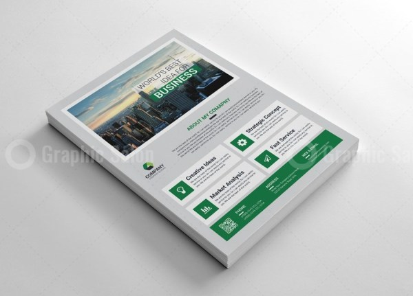 Classy Business Flyer Templates 5
