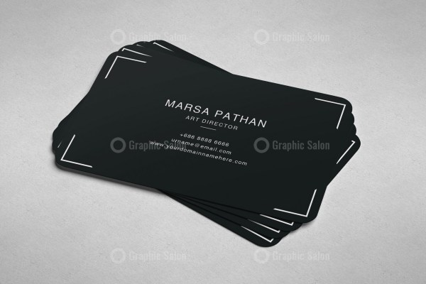 Pinkish Classic Business Card