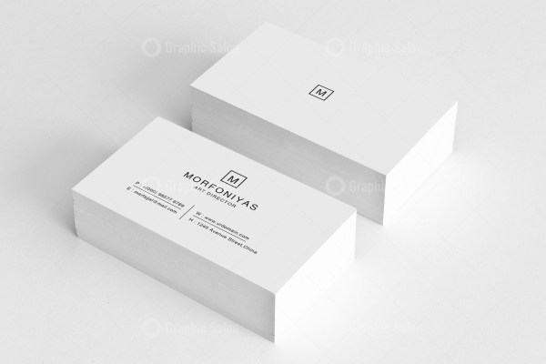 Plain Business Card Templates