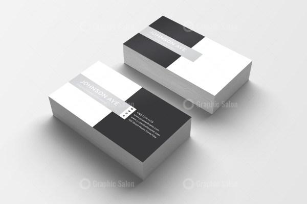 Checkered Visiting Card Templates 1